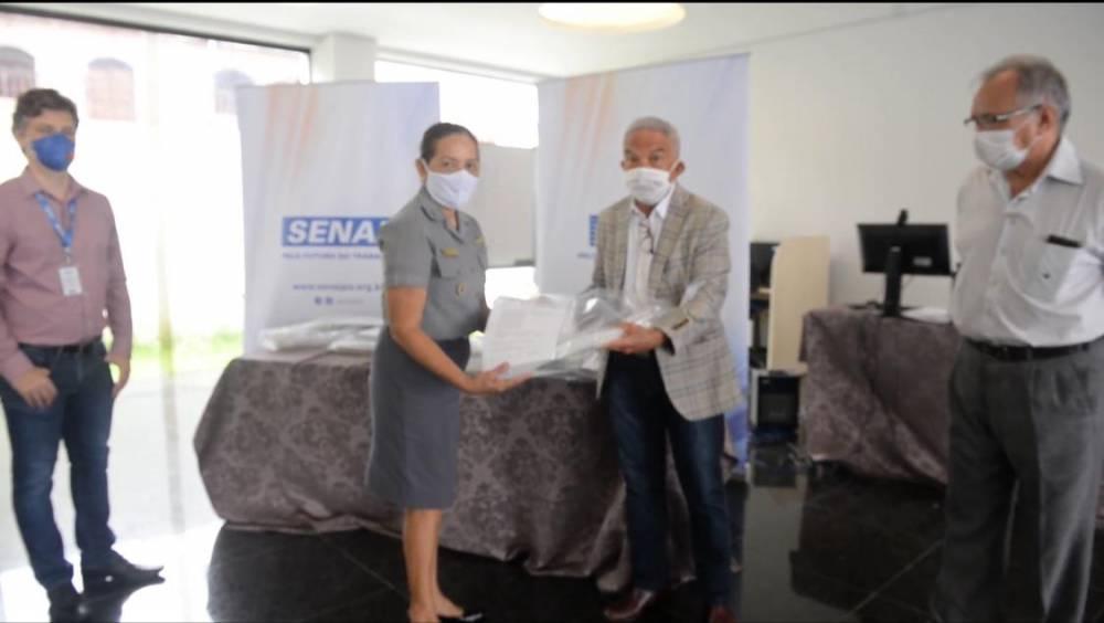 SESI e SENAI realizam entrega da doação de 1.000 Equipamentos de Proteção Individual (EPI's)
