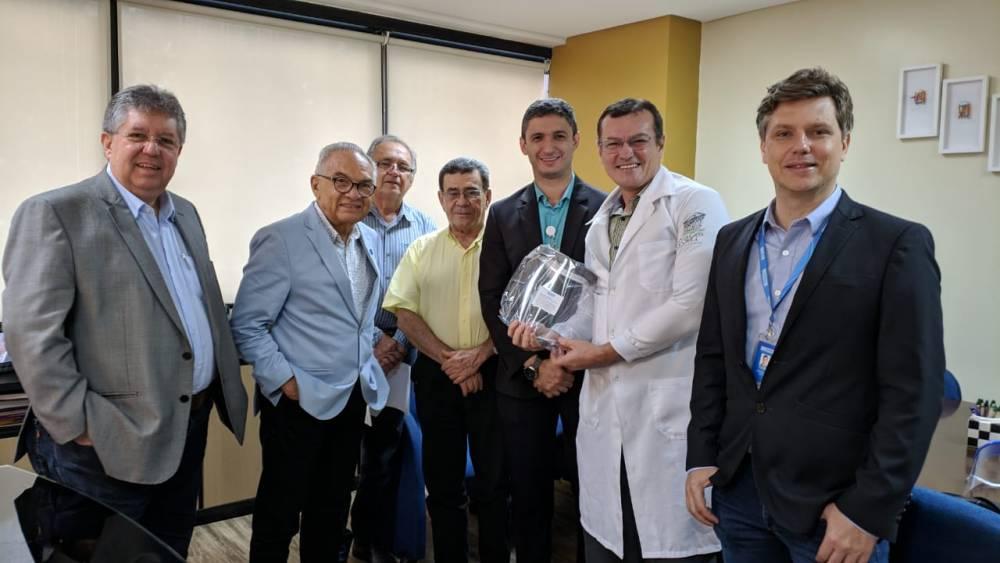 SENAI Pará começa a doar protetores faciais para profissionais de saúde
