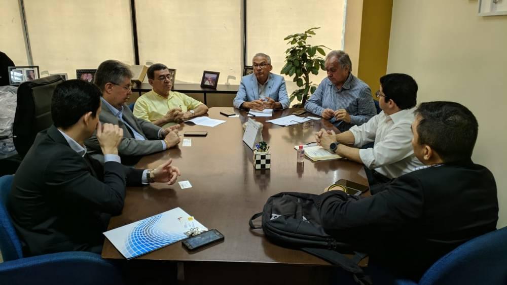 FIEPA e CIP reúnem-se com o Banco do Brasil