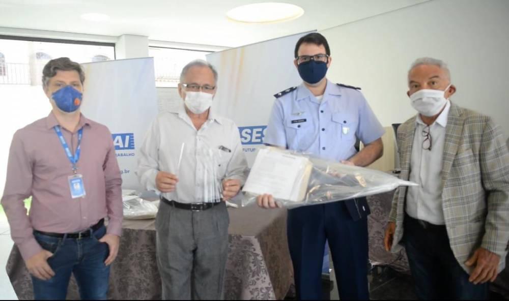 SENAI e SESI realizam entrega da doação de 1.000 Equipamentos de Proteção Individual (EPI's)