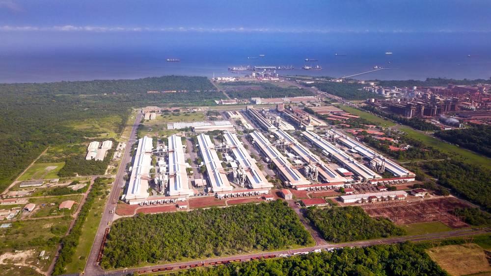 Resíduo da produção da Albras é transformado em matéria-prima para indústrias cimenteiras