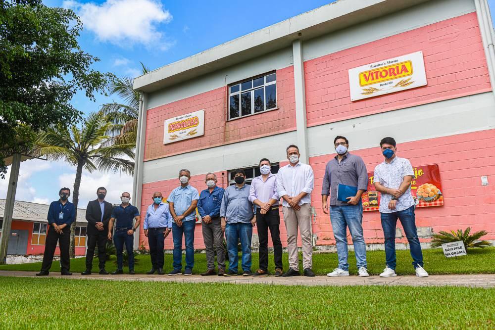 Programa'Na Fábrica' visita fábrica no Distrito Industrial de Ananindeua
