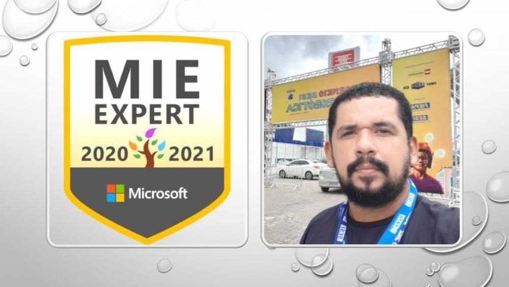Professor do SESI conquista certificação em programa internacional da Microsoft