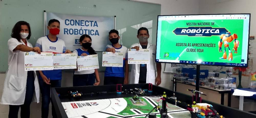 Alunos da Escola SESI Icoaraci são destaque na Mostra Nacional de Robótica