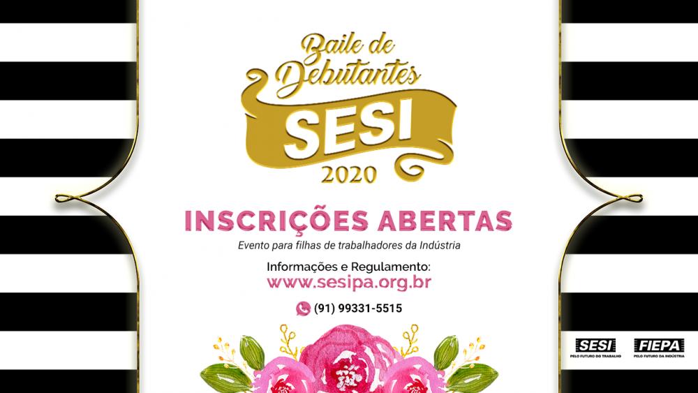 Baile de Debutantes do SESI abre inscrição para 50 jovens filhas de trabalhadores da indústria
