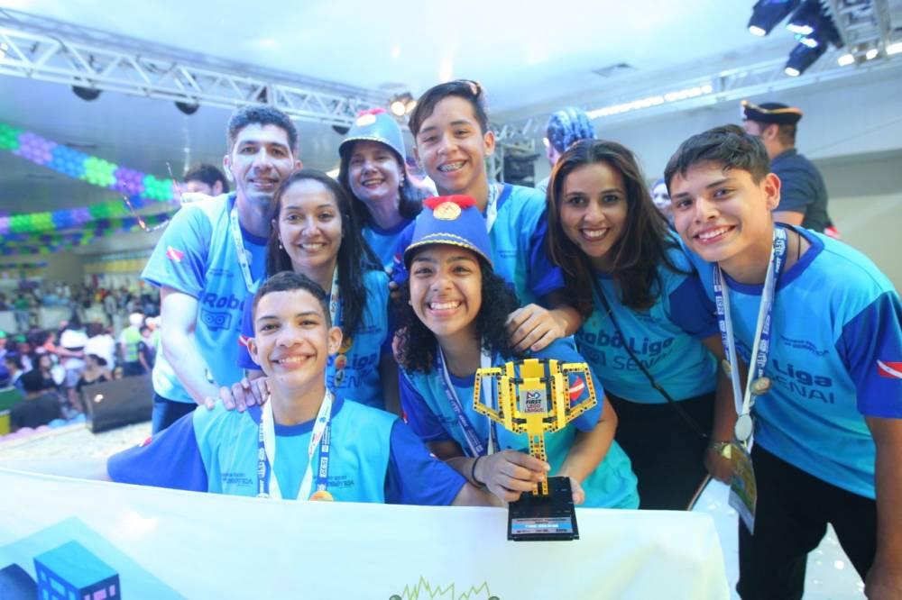 Equipe do SENAI vai disputar etapa nacional de torneio de robótica