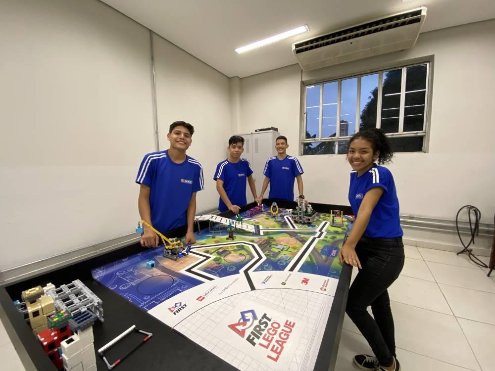 Equipe do SENAI participará do Torneio SESI de Robótica First Lego League