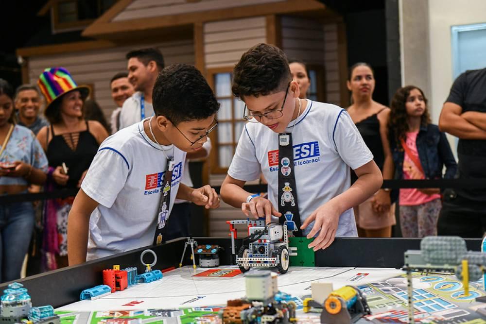 Robótica estimula criatividade e inovação entre alunos