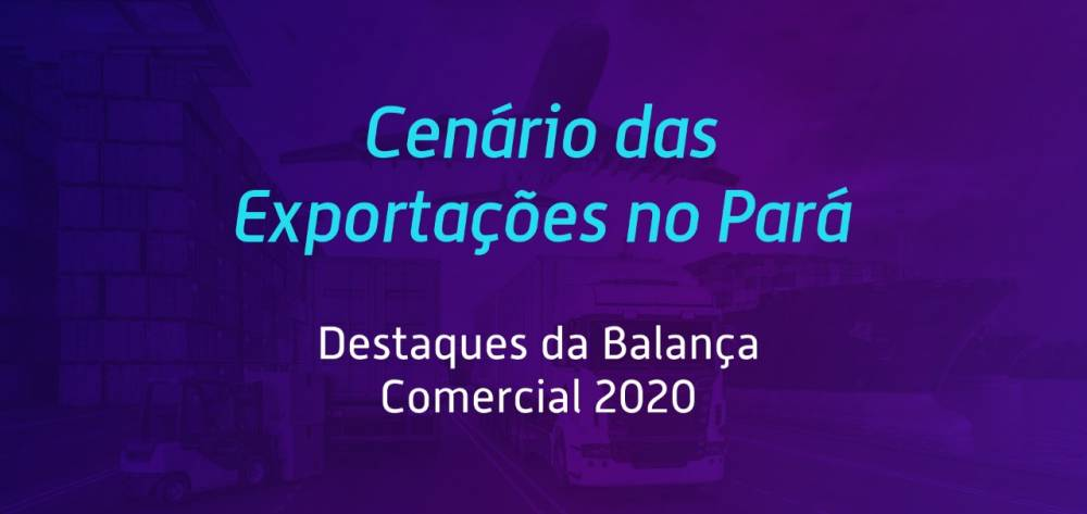 Apesar da crise, Pará fecha 2020 com saldo positivo na balança comercial brasileira