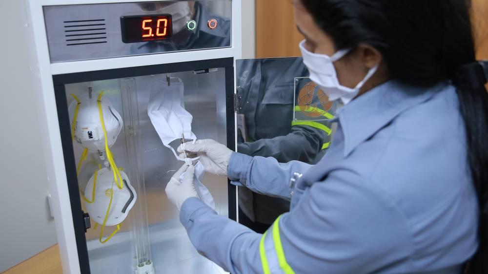 Hydro usa tecnologia com raios ultravioleta para prevenir a COVID-19
