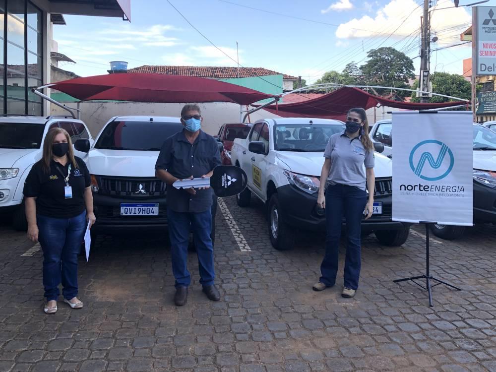 Norte Energia doa veículos para reforçar a estrutura do DSEI na região do Xingu