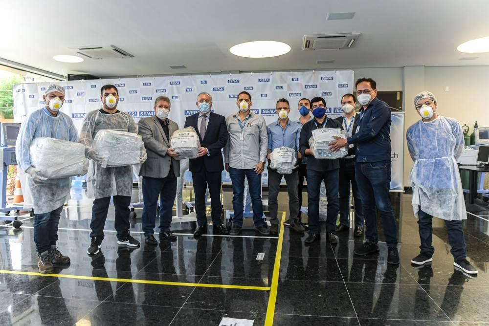SENAI Pará e parceiros alcançam a marca de 50 respiradores consertados