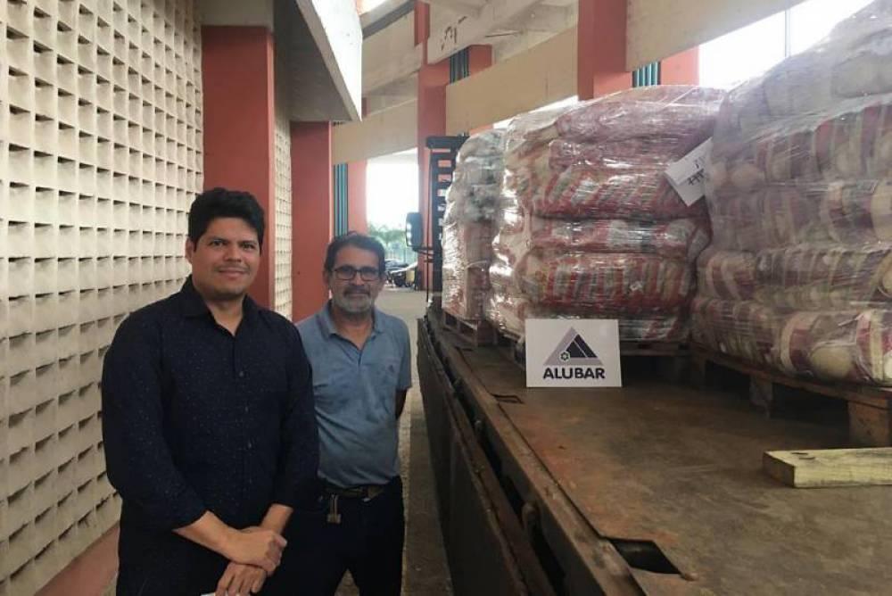 Alubar realiza doações para reduzir impactos da pandemia no Pará