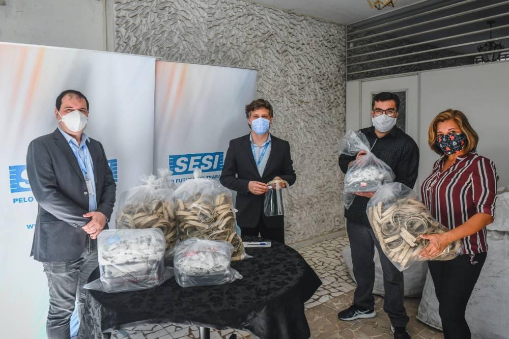 Em combate ao coronavírus, Sistema FIEPA doa face Shields a entidades de saúde do Estado