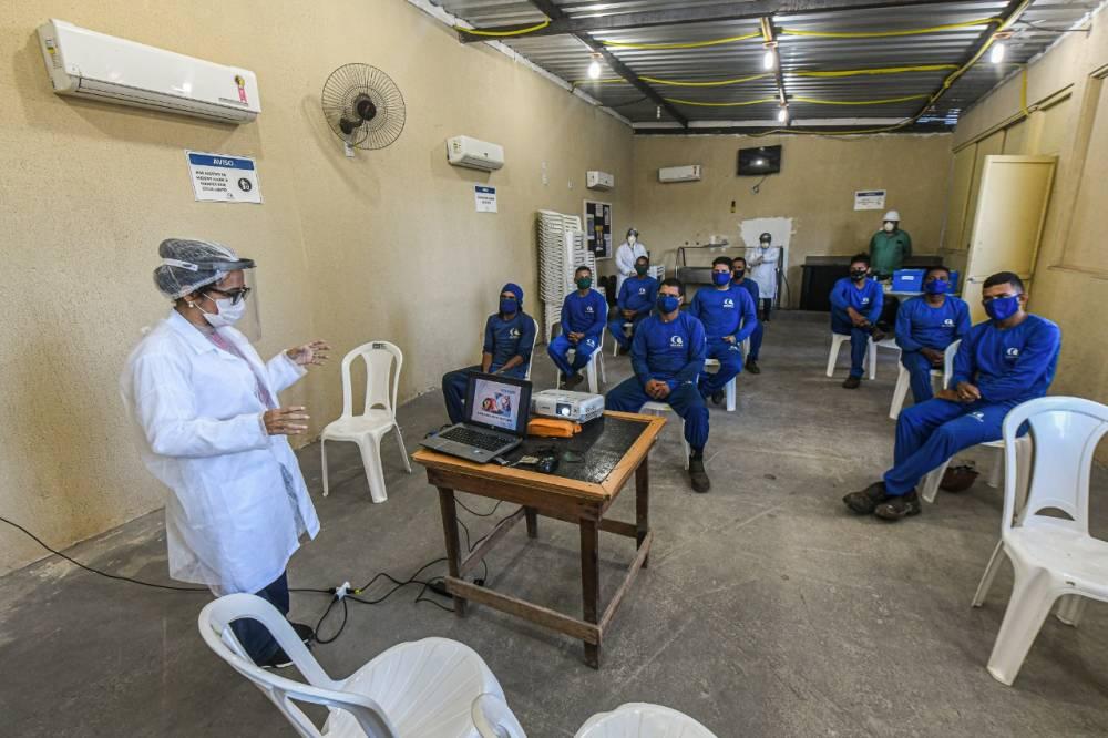 Campanha conjunta entre SESI e Sinduscon-PA leva a prevenção ao novo coronavírus à empresas da construção civil