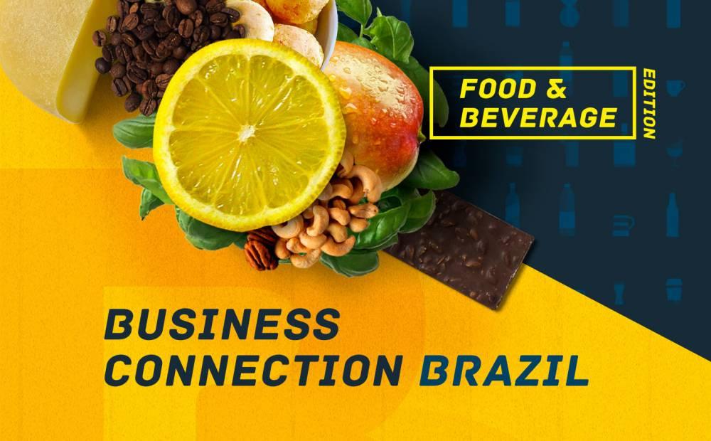 Rodada de negócios Business Connection Brazil: Food and Beverage abre inscrições para empresas do setor de alimentos e bebidas