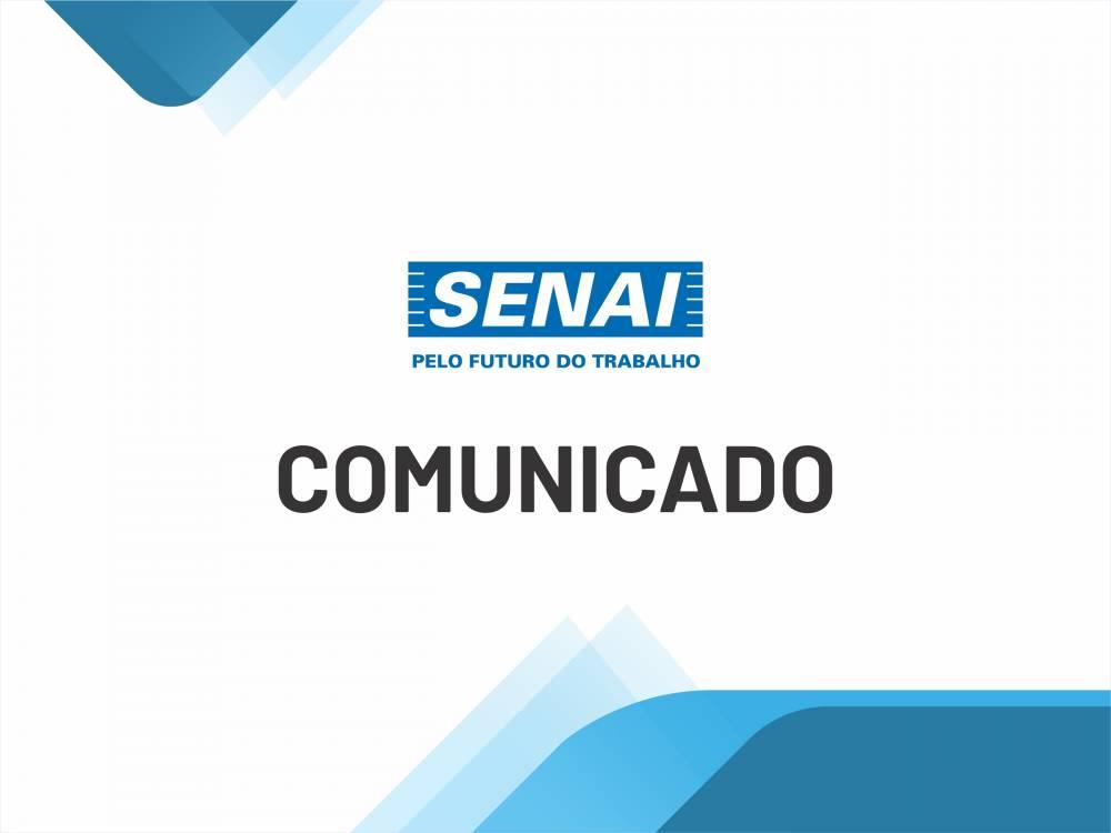 Prova de processo seletivo do SENAI Castanhal está suspensa