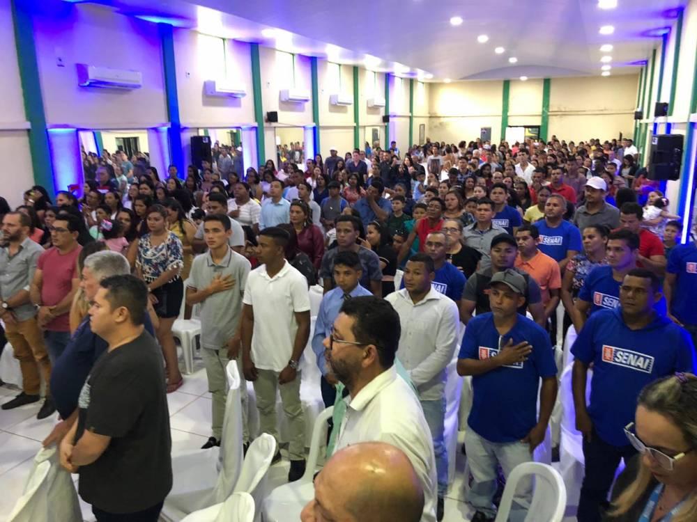 SENAI certifica 208 novos profissionais para o município de Moju