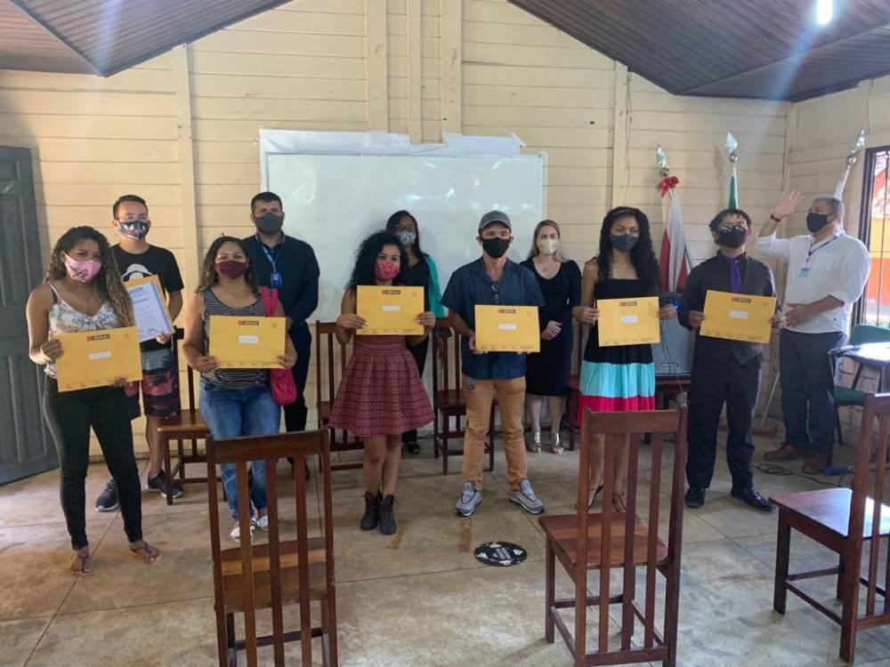 SENAI e TerPaz certificam alunos da Cabanagem