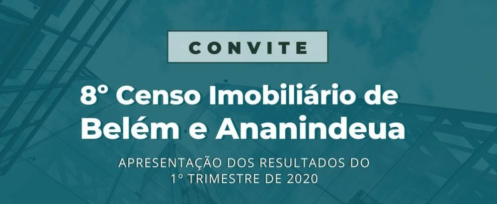 Sinduscon realiza hoje, via web, a oitava edição do Censo Imobiliário de Belém e Ananindeua