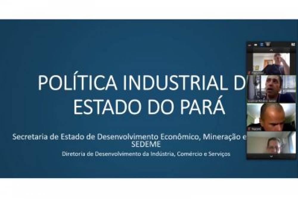 Estado e setor produtivo discutem estratégias para a política industrial do Pará