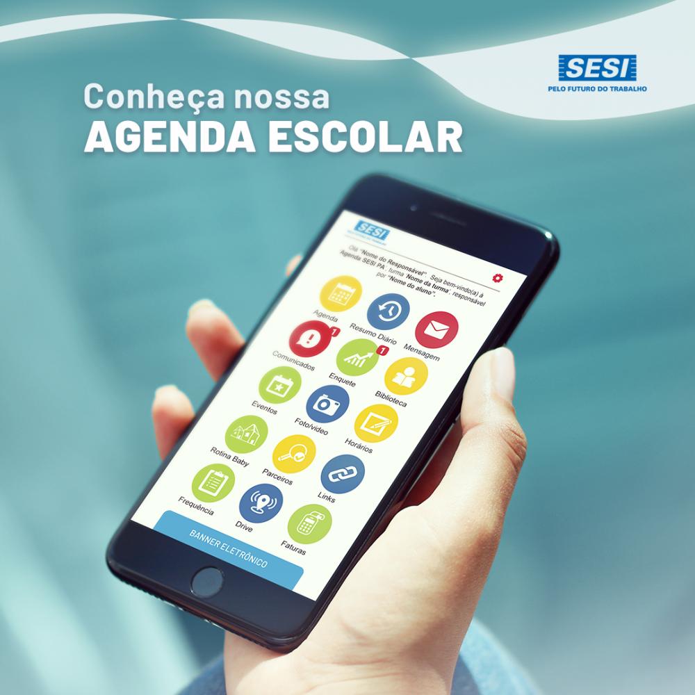 Conheça a nova Agenda Digital da Escola SESI