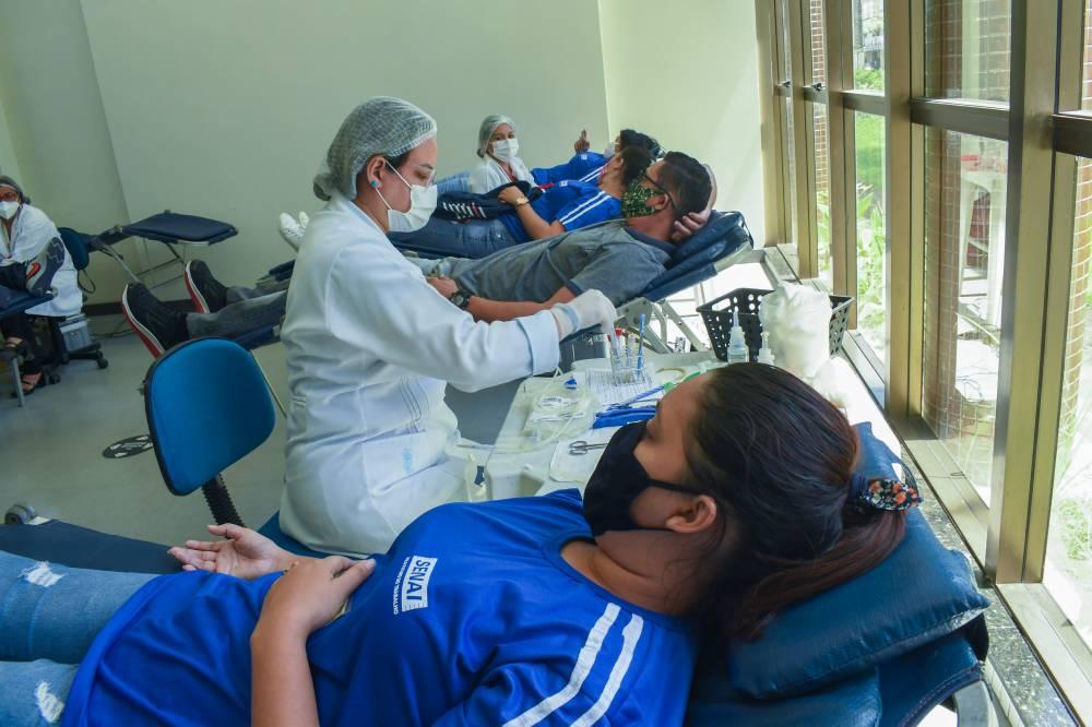 Campanha do Sistema FIEPA consegue 195 doações de sangue