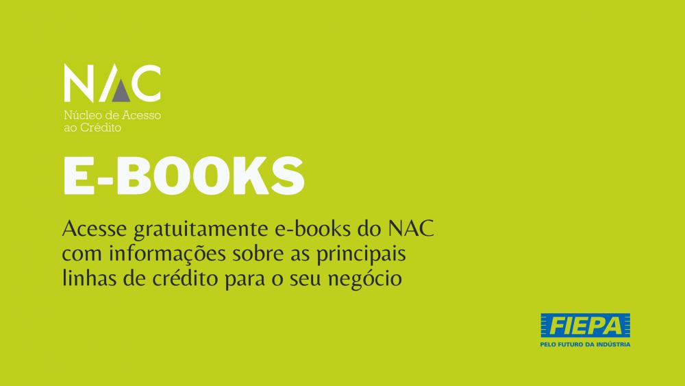 E-Books do Núcleo de Acesso ao Crédito