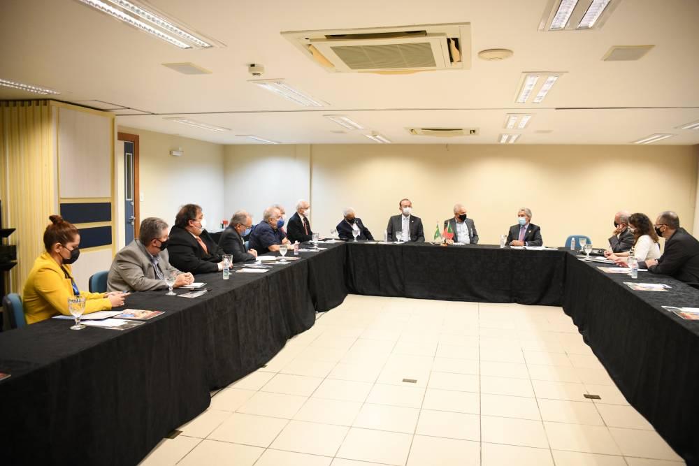 Encontro na FIEPA teve como objetivo estreitar as relações comerciais entre Pará e Portugal
