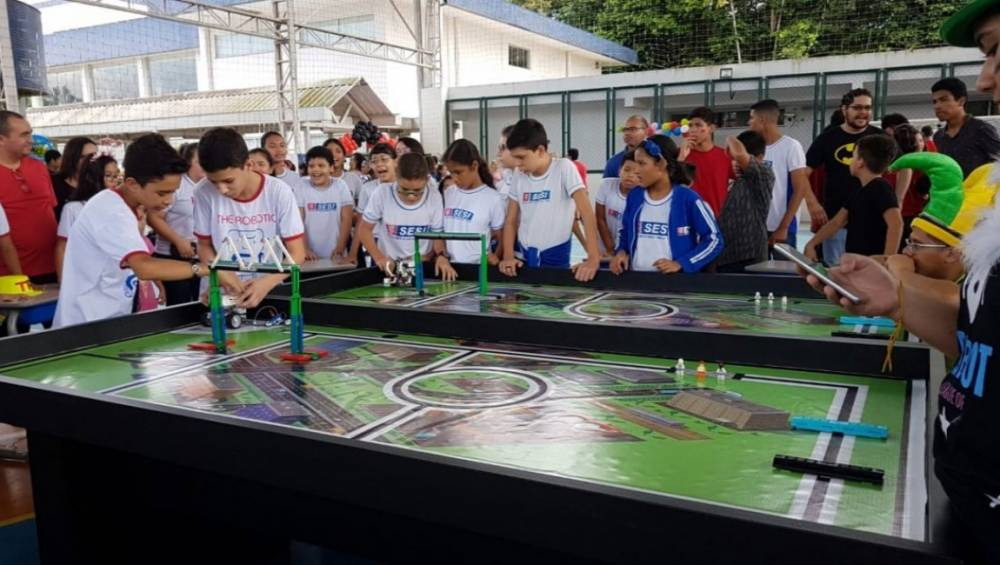 Escola SESI Ananindeua realiza seu primeiro torneio de robótica