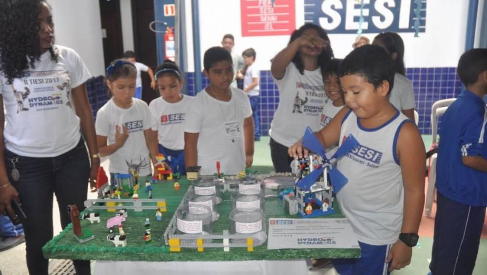 Escola SESI Icoaraci promove torneio de robótica
