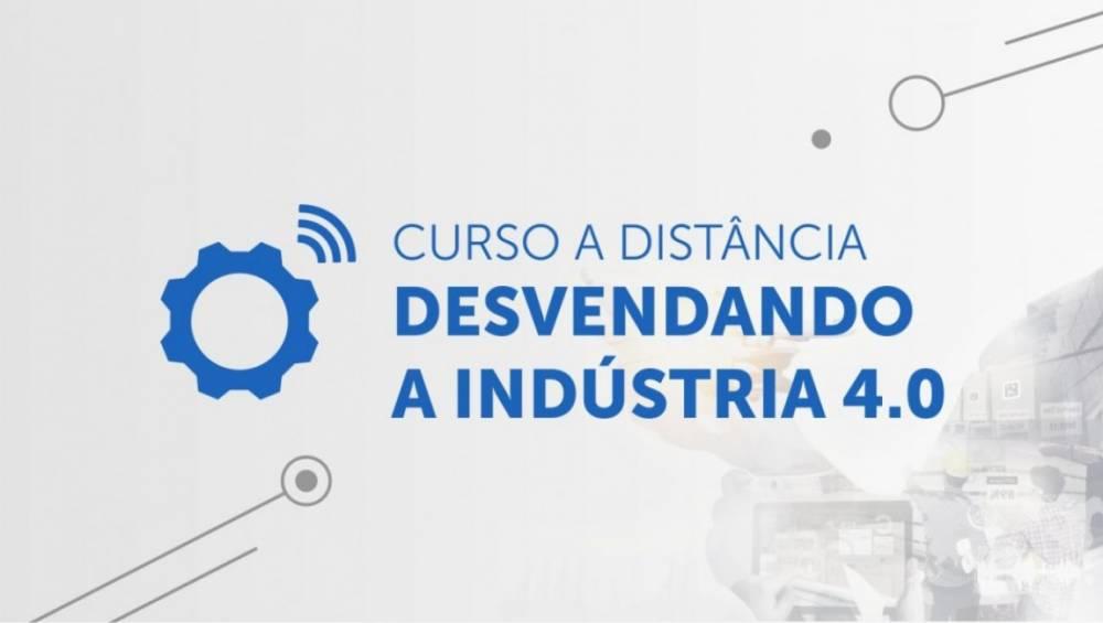 Curso online gratuito sobre Indústria 4.0