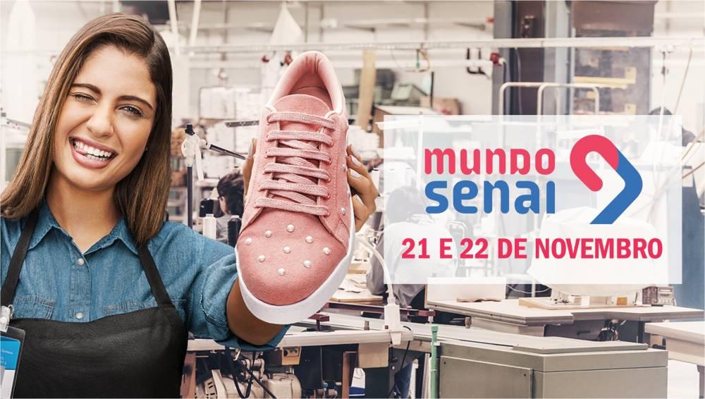 Mundo SENAI 2019 apresenta as profissões industriais