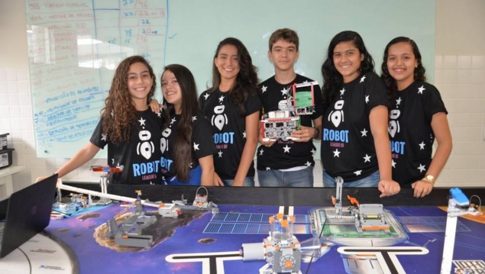 Alunos do SESI representarão o estado em torneio de robótica