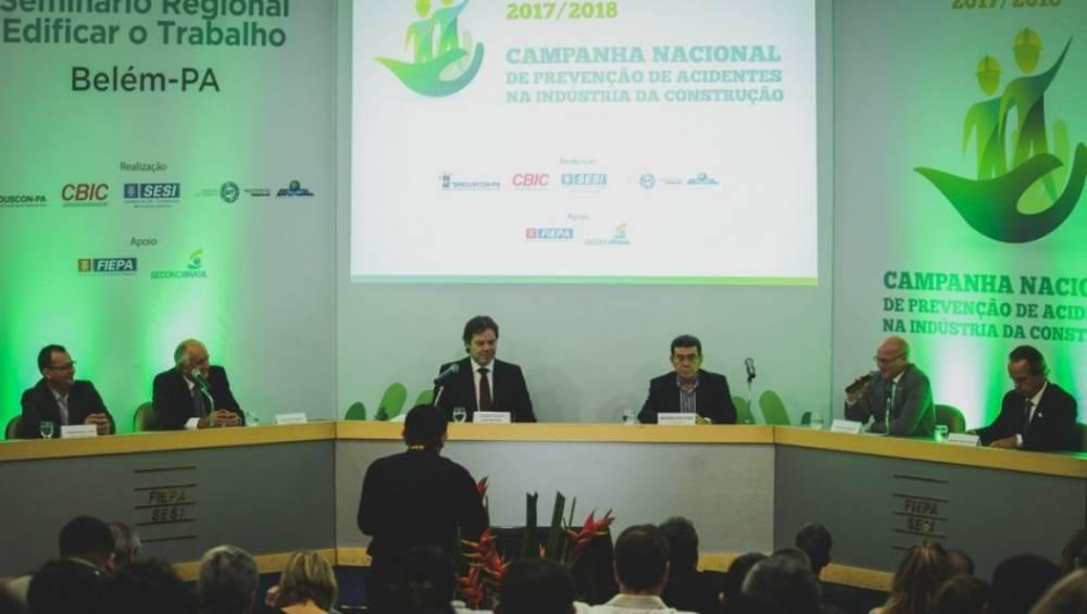 Seminário debate prevenção de acidentes na construção civil
