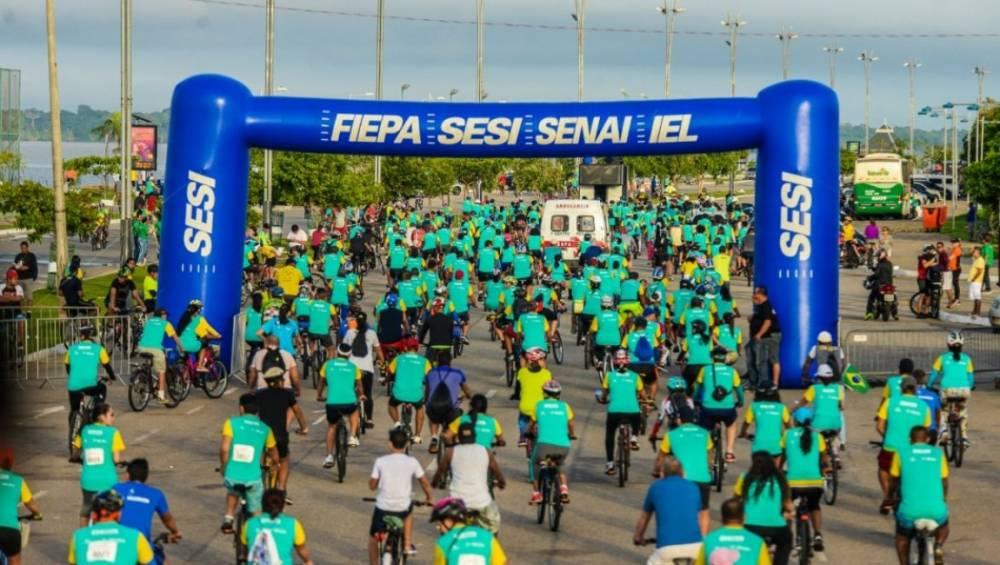 Passeio Ciclístico SESI SENAI reúne mais de 5 mil pessoas