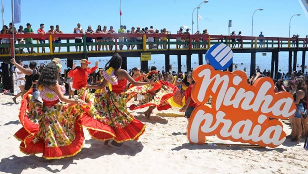 Praia do Caripi, em Barcarena, recebe projeto Minha Praia