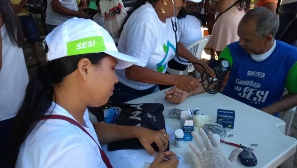 Ação Global levou diversos serviços à população de Paragominas