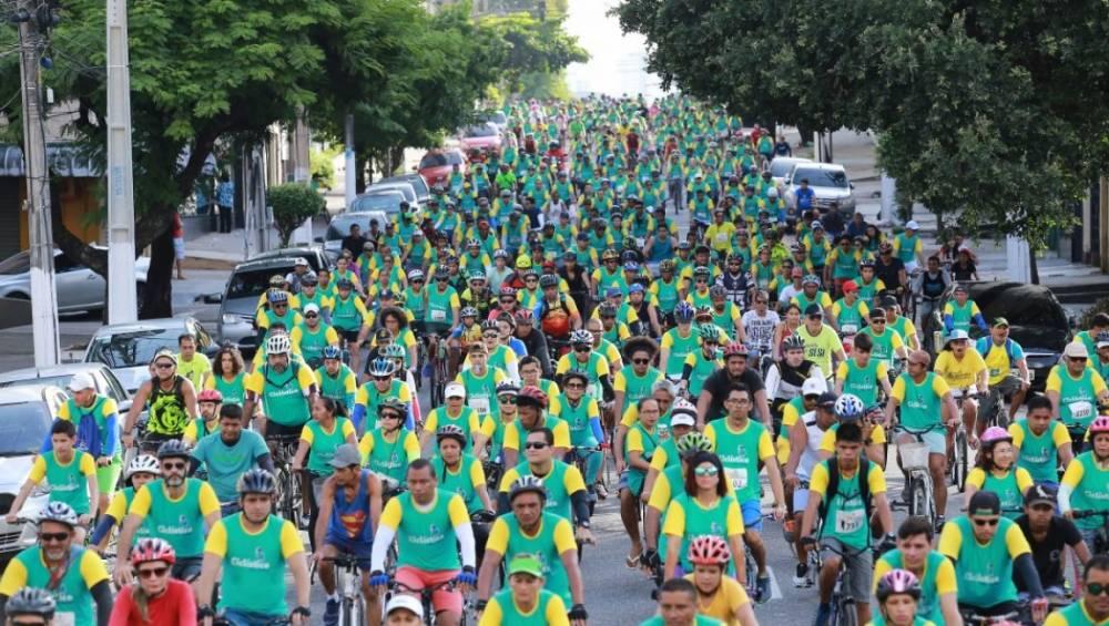 Passeio Ciclístico SESI SENAI celebra aniversário da capital