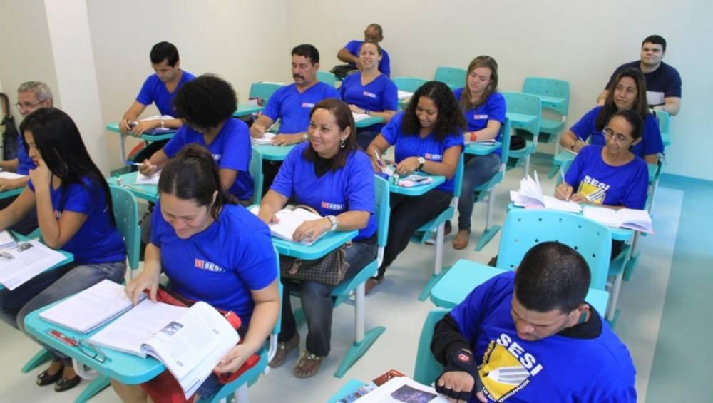 SESI está com matrículas abertas para turmas de Educação de Jovens e Adultos