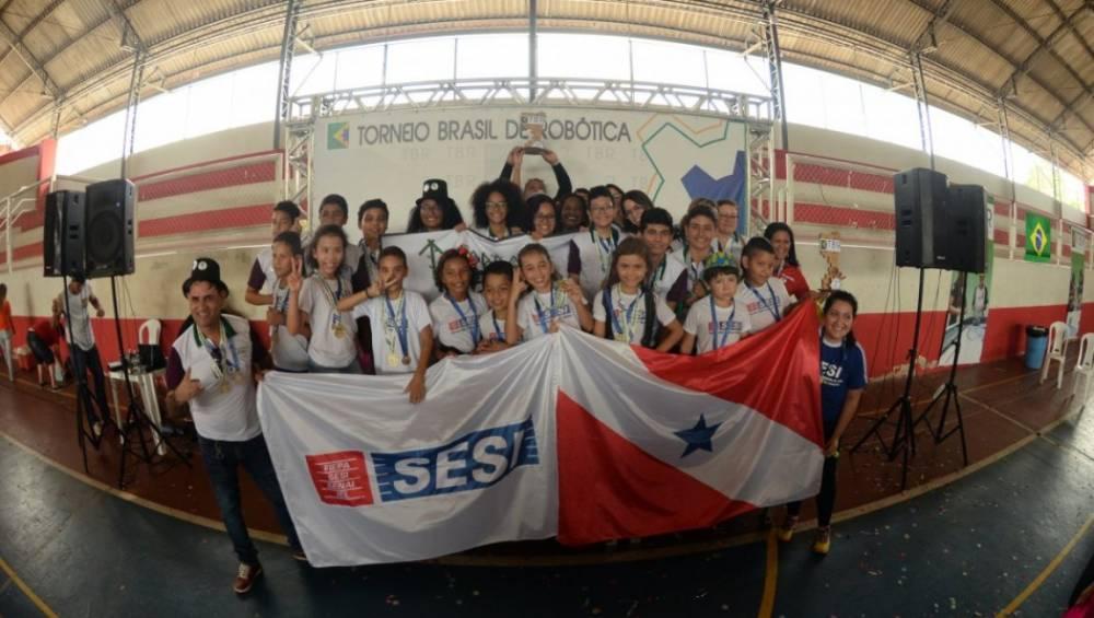 Escola SESI Icoaraci é destaque em torneio nacional de robótica