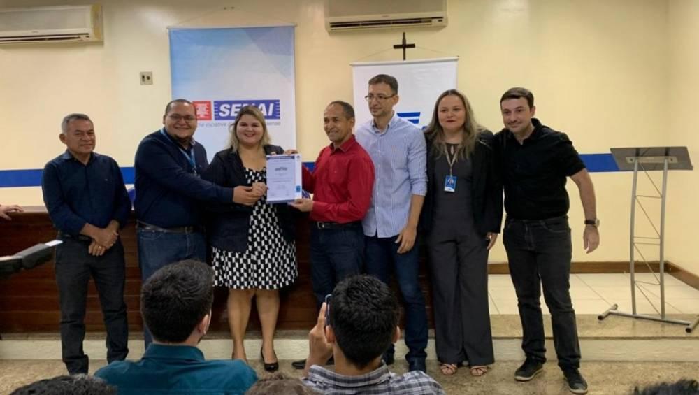 Projeto do setor de reparação de veículos certifica primeira empresa no Pará