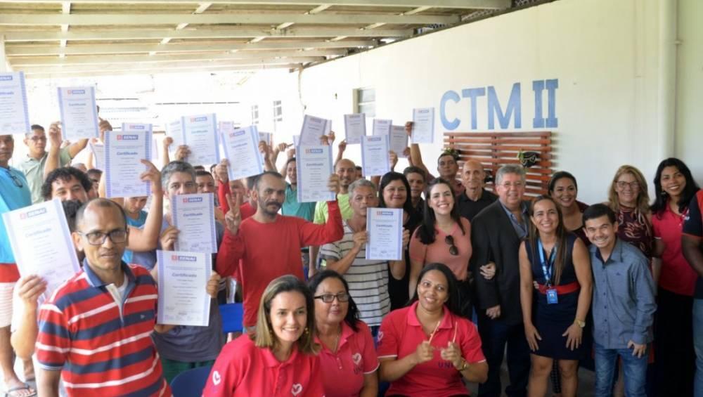 Internos do CTM II concluem curso do SENAI