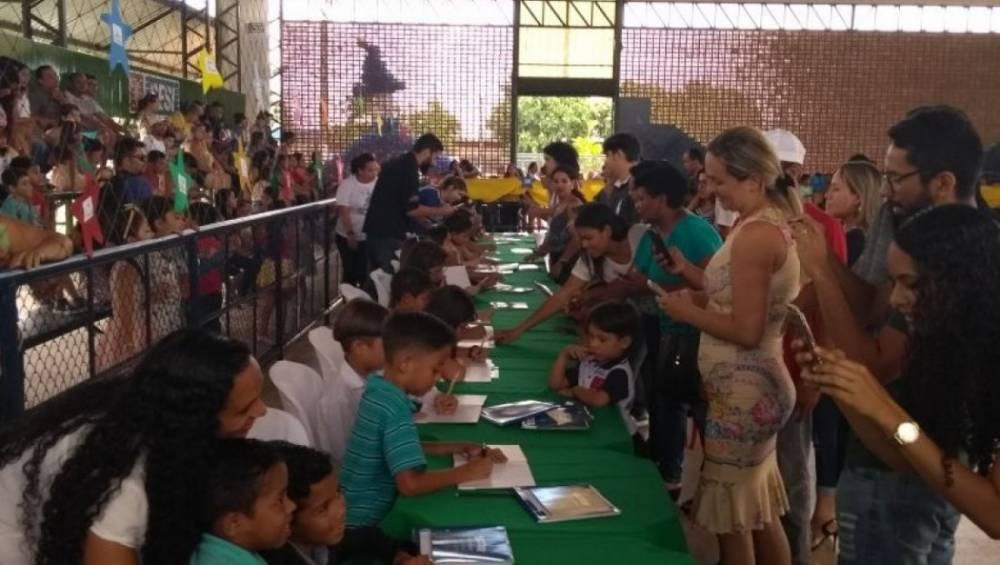 Castanhal recebe pequenos escritores