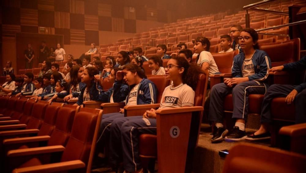 Teatro do SESI abre para visitação de escolas