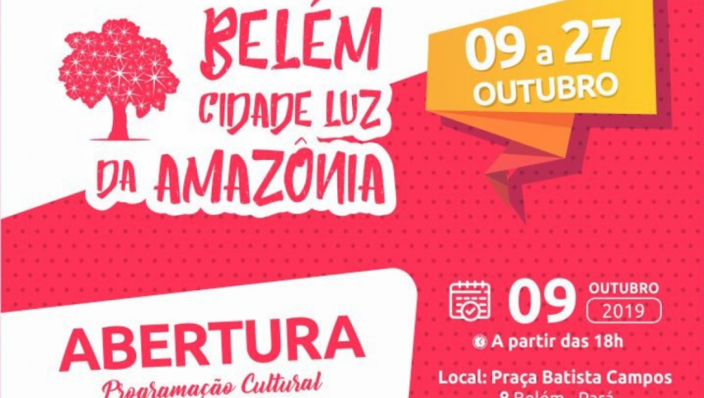 Belém Cidade Luz leva programação gratuita para a praça Batista Campos