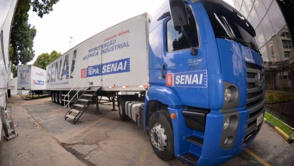 SENAI inaugura nova unidade móvel