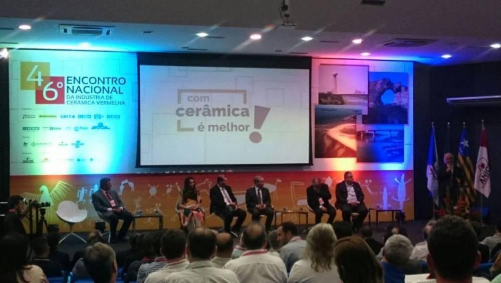 SENAI Pará participa do 46º Encontro Nacional da Indústria de Cerâmica Vermelha