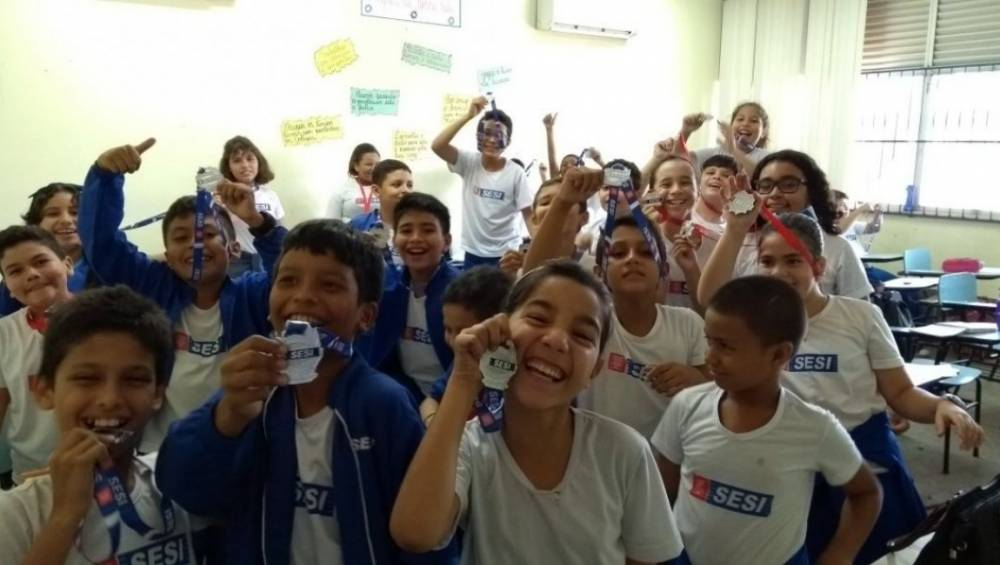 Escola SESI Santarém é primeiro lugar em simulado