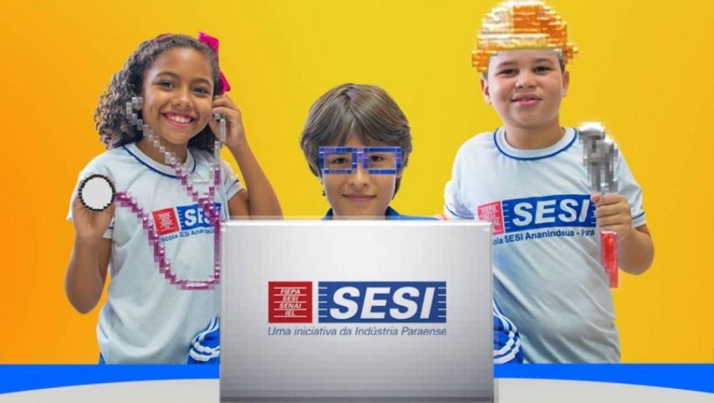 Matrículas abertas para as escolas do SESI Pará